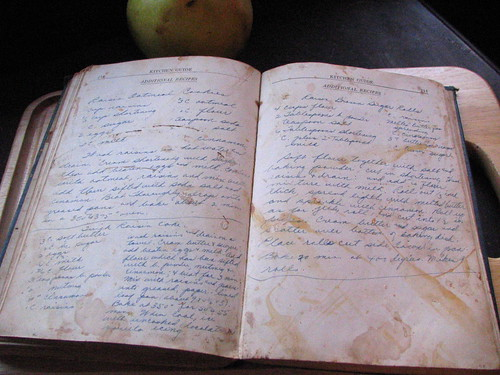 Grandma's cookbook: more handwritten recipes