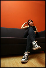 Elisa (Sartori Simone) Tags: portrait girl photoshoot erin bad band sofa converse divano ritratto allstar poprock ragazza gruppo fahrenheit451 montag camacho allrightsreserved simonesartori andrealivieri cristiansecco elisabonomo
