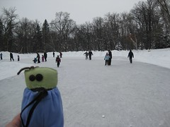 Skating at St Vital Park
