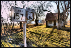 Illinois U. S. 66 & History (Rascaille Rabbit) Tags: home illinois route66 hovel usroute66 historicillinoisus66 illinoisus66 illinois157