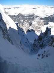 Il Canalone Omicida - Dolomiti di Sesto, Dolomites ski-mountaineering off-piste skiing (Alberto De Giuli) Tags: unesco adventures scialpinismo dolomites dolomiti sdtirol altoadige southtyrol backcountryskiing skimountaineering mountainguide freeski popera dolomitisesto guidaalpina skidolomites canaleomicida dolomitesadventures