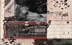 (dailypoetics) Tags: art collage vintage paper nude mixed media antique ephemera photograph