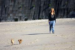 Mickey, Minnie, no os alejeeis! (Leandro MA) Tags: chihuahua playa acorua canoneos40d leandroma