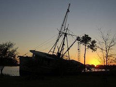 2009 0122 AL Bon Secour Morning Star 3 (lexup) Tags: sunset fishing ship alabama shrimp maritime wreck gulfshores downsouth baldwincounty redneckriviera bonsecour abalama
