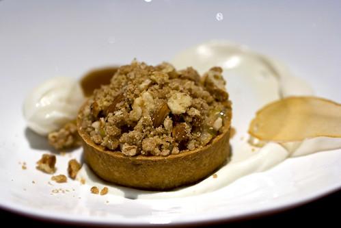 Pear Almond Streusel Tart