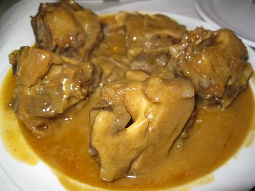 Smothered Oxtails