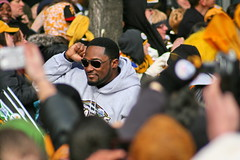 Pittsburgh Steelers Head Coach Mike Tomlin (Deepak & Sunitha) Tags: pittsburgh nfl super bowl victory parade title superbowl sixth celebrate 2009 steelers champions grantstreet gosteelers terribletowel herewego steelernation xliii miketomlin sixburgh slashd