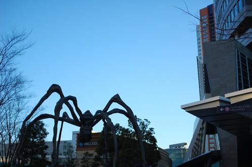 spider at Roppongi Hills