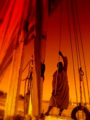 Hoisting Sails On The Nile River (Butch Osborne) Tags: travel traveling gct mustsee egypt2006 mywinners grandcircletravel anawesomeshot aplusphoto bucketlist
