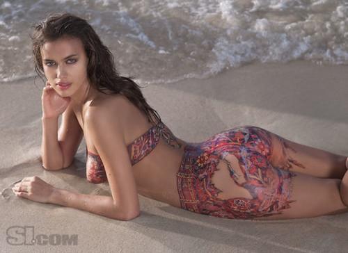 Exotic Body Paint Bikinis Art