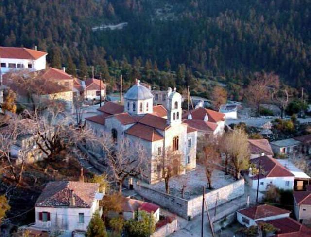 Στερεά Ελλάδα - Ευρυτανία - Καρπενήσι Αγία Παρασκευή, Κερασοχώρι
