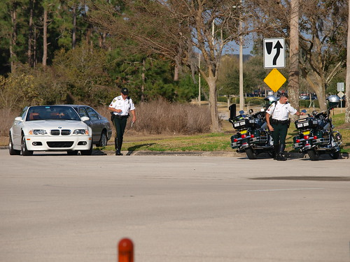 Orange County Sheriff Speed Trap - 12 Feb 2009