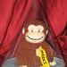 Mini Curious George cake cover