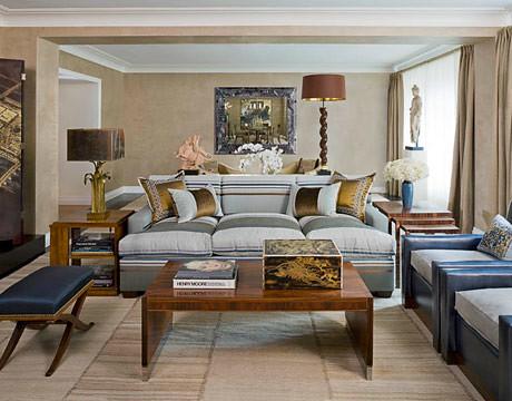 Warm neutrals: Kips Bay showhouse living room by Stephen Miller Siegel,house, interior, interior design