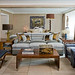 Warm neutrals: Kips Bay showhouse living room by Stephen Miller Siegel