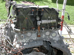 Werkage of  WRIGHT engine VT-CQP MALABAR PRINCESS Mont Blanc FRANCE (AFCONSTEL) Tags: princess l lockheed chamonix constellation malabar 749 vtcqp