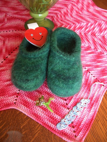 felted slippers from Angelika-2
