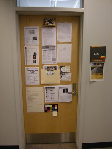 My office door