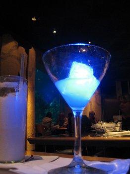 Blue Glow-tini Coral Reef Epcot