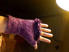Purple Mitts