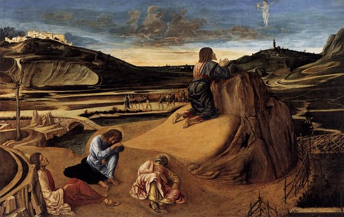 Giovanni Bellini Prayer of Christ in the garden of Gethsemane by you.