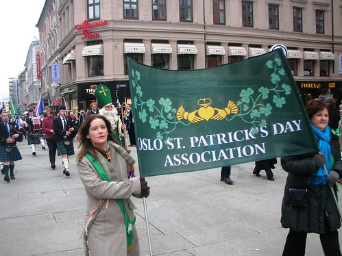St. Patrick's Day Parade in Oslo #16