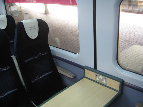 Train Chartering - detail in First Great Western standard class carriage available for hire