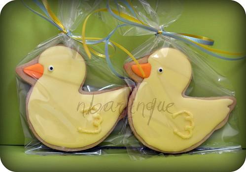 Ducky Cookies