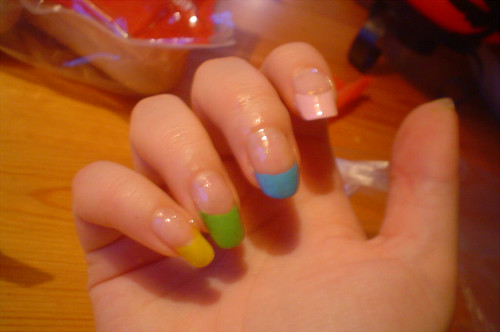 nail Colourful Nail designs with rainbow style nailart gallery nail art designs gallery