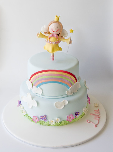 Lulu's Christening Cake