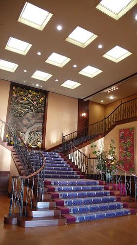 Entrance, Fujiya Hotel
