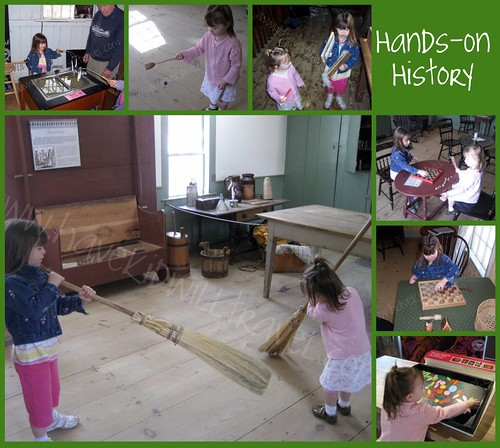Old Sturbridge Village, Hands-on History Collage, Massachusetts
