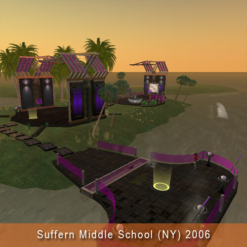 Introduction area for Suffern Middle School(NY) 2006