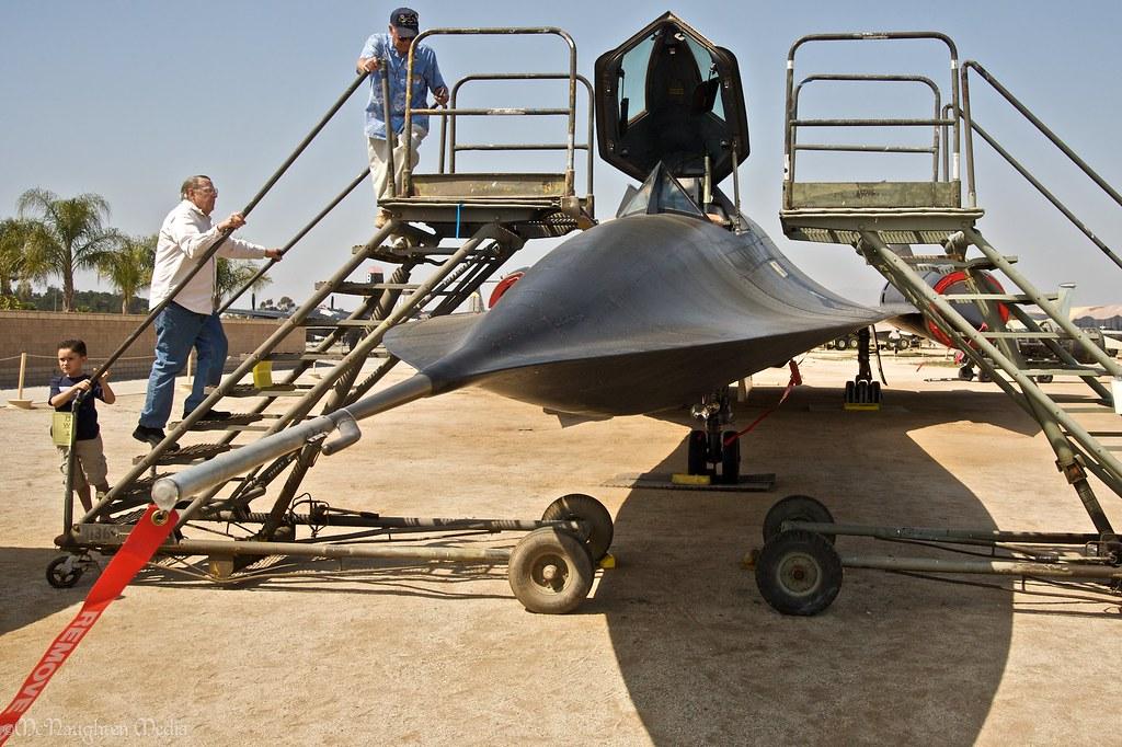 Lockheed SR-71A Blackbird @ The March Field Air Museum