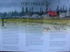 Fort Nisqually signage