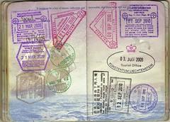 USA Passport: Malaysia, Singapore, Liechtenste...