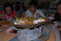Steamed Assam Fish - Restoran Sri Mahkota Seafood