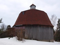It's Round, and it's a Barn..... (reflectionsofthenorth) Tags: ontario nature northernontario naturephotography algoma ihatewinter ontarionature algomaontario