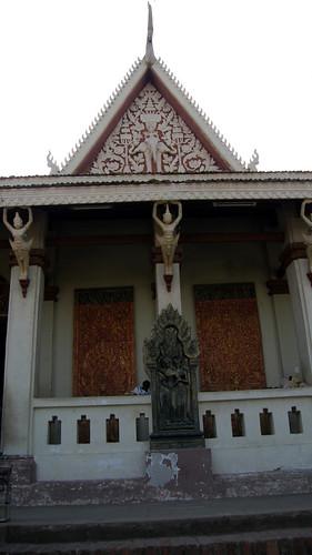42.塔山(Wat Phnom)頂上的廟