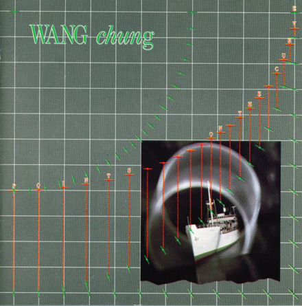 Front cover, Points On The Curve, Wang Chung, 1984.
