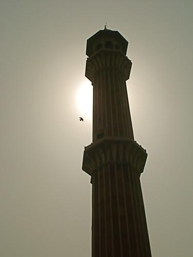 Tower of Jama Masjid, Delhi