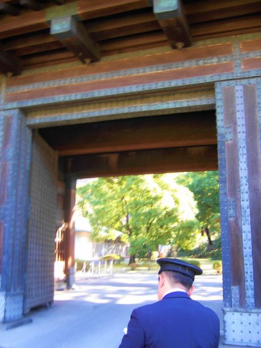 guard and entrance gate