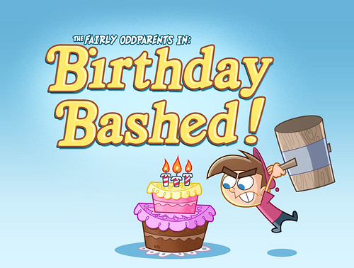 Birthday Bashed Title Card