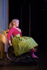 Joyce DiDonata sings in her wheelchair