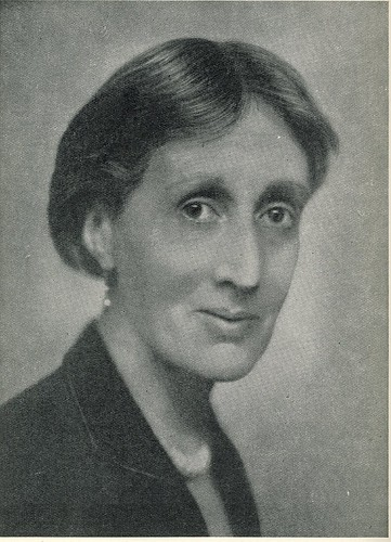 Virginia Woolf Smiling? Surely not…