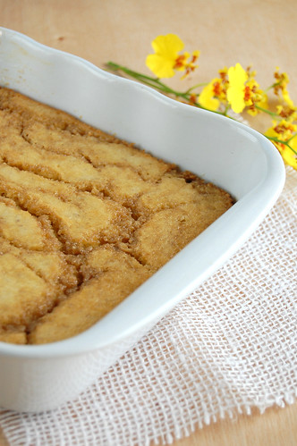 Banana butterscotch pudding / Sobremesa de banana e caramelo