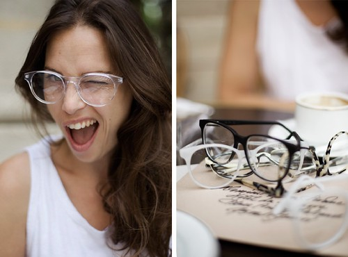 Adjustable Reversible Prism Glasses | Bed Prism Reading Glasses