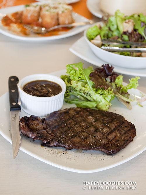 Grilled Rib Eye Steak (P595)