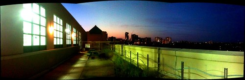 Toronto rooftops, by ragart