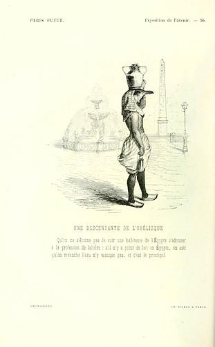 023-Exposicion del futuro-Una descendiente del obelisco dibujado por Grandville
